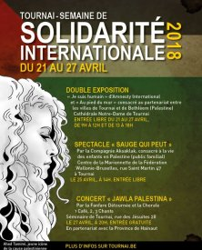 Semaine de Solidarité Internationale de Tournai du 21 au 27 avril